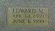 "Edward M ""Eddie"" Buck"