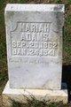 Mariah <I>Lanier</I> Adams