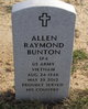 Profile photo:  Allen Raymond Bunton