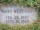Dewitt Parks Weatherman