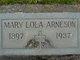 Mary Lola <I>Kirby</I> Arneson