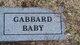 Profile photo:  Baby Gabbard