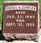 Profile photo:  Emma A. Cowles