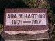 Profile photo:  Ada V. Harting