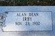 Profile photo:  Alan Dean Irby