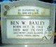 Ben W Baxley