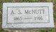 Profile photo:  A. S. McNutt