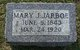 Mary Jane <I>Pate</I> Jarboe