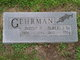 "Wilhelmina Rose ""Minnie"" <I>Bentz</I> Gehrman"