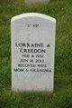 Profile photo:  Lorraine A Creedon