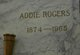 Profile photo:  Addie Rogers
