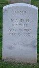 Profile photo:  Maud Douglas <I>Helms</I> Bulski