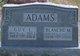 Profile photo:  Blanche M. Adams