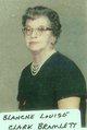 Profile photo:  Blanche Bramlett <I>Clark</I> Terrell