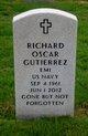 Profile photo:  Richard Oscar Gutierrez