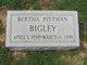 Bertha <I>Pittman</I> Bigley