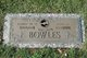 Profile photo:  Albert W. Bowles, Sr