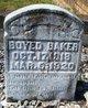Profile photo:  Boyed Baker