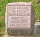 Profile photo:  Eva Maxine Campbell
