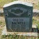 Dorthy Mae Bagwell