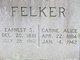 Profile photo:  Earnest Sherwood Felker