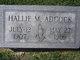 Hallie M. Adcock