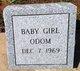 Infant Daughter Odom