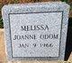 Melissa Joanne Odom