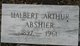 "Profile photo:  Halbert Arthur ""Hobby"" Abshier"