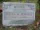 Profile photo:  Bertha H <I>Waite</I> Bonsell