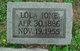 Lola Ione <I>Orr</I> Slavens
