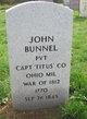 Profile photo:  John Bunnel