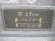 """William James """"Willie"""" Pope"""