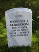 Profile photo:  Marilyn Jane Anderson