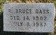R Bruce Gass
