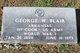 Profile photo:  George Washington Blair