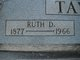 Ruth Catherine <I>Derryberry</I> Taylor