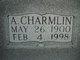 """Annie Charmlin """"Charmie"""" <I>Ford</I> Taylor"""