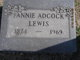Fannie Lewis Adcock