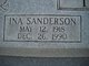 Ina Dell <I>Sanderson</I> Taylor