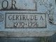"Gertrude A. ""Gert"" <I>Arendall</I> Taylor"