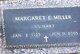 Margaret E Miller