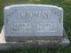 Profile photo: Mrs Flora Lillian <I>Berrey</I> Croman