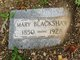 Mary <I>Hunt</I> Blackshaw
