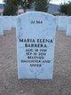Profile photo:  Maria Elena Barrera