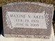 Profile photo:  Maxine V. <I>Hoffman</I> Akes