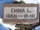 Profile photo:  Emma Luella <I>Wymer</I> Black