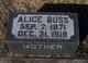 Profile photo:  Alice <I>Coop</I> Buss