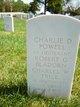 1LT Charlie D Powell