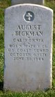 "Profile photo:   August "" "" <I> </I> Bickman,"